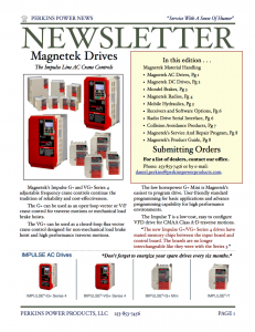 A brief overview of Magnetek's service and product lines